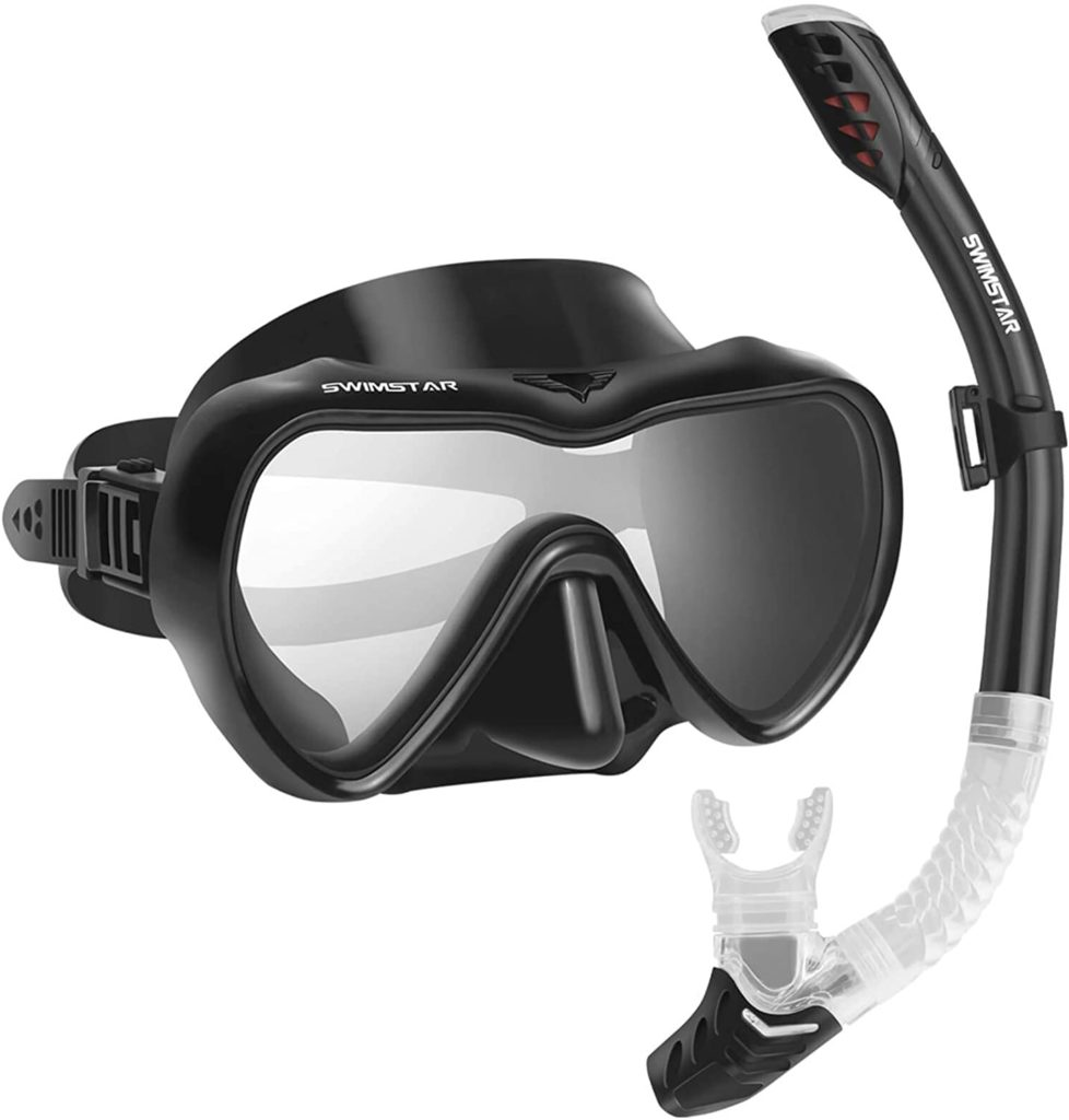 best swimming goggles with nose cover